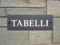 Hand Painted House Sign Glamorgan