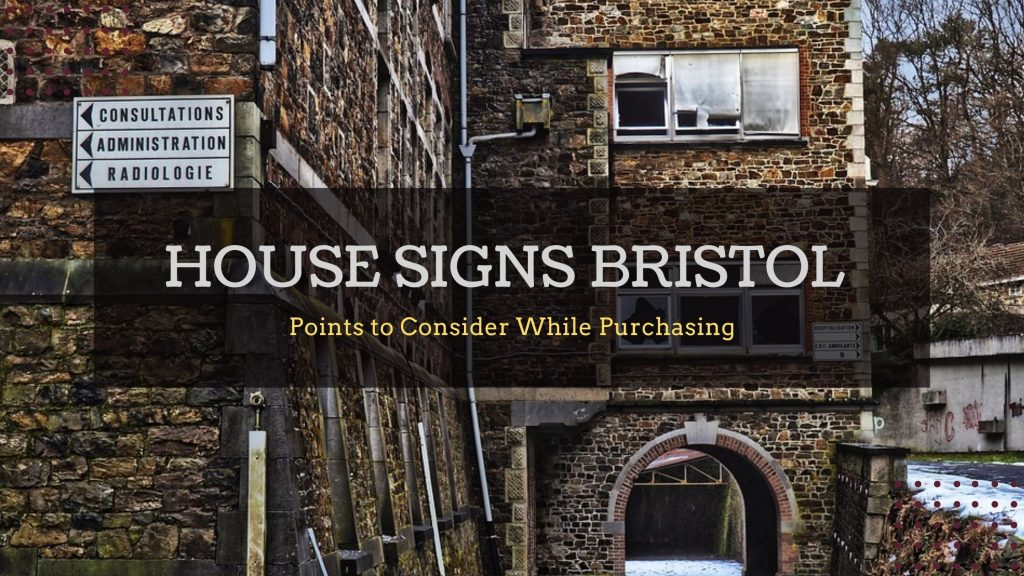 House Painted Signs Bristol