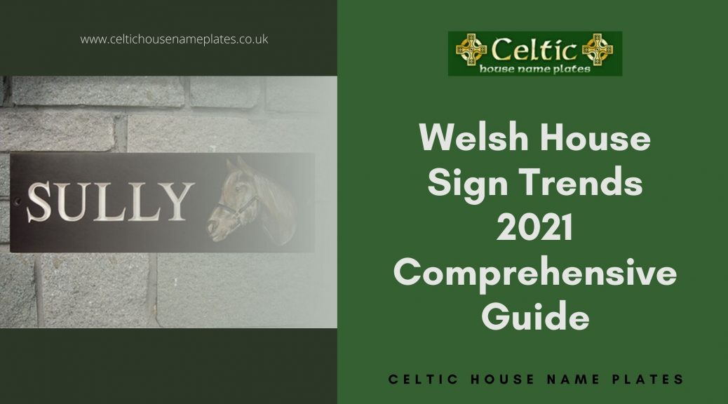 Welsh Slate Signs Glamorgan